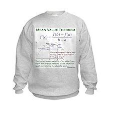 Mean Value Theorem Sweatshirt