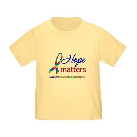 HopeMatters Autism Toddler T-Shirt