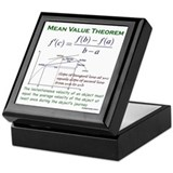 Mean Value Theorem Keepsake Box