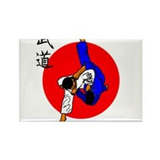 Judo Glory Rectangle Magnet (100 pack)