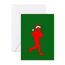 Christmas Runner Greeting Cards (Pk of 20)