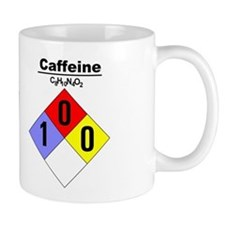 Caffeine Chemical Hazard and MSDS Mug