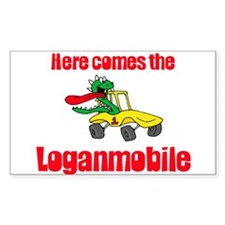 Loganmobile Rectangle Decal
