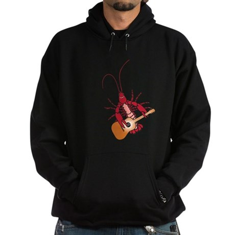 Crayfish Guitarist Hoodie (dark)