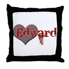 I Heart Twilight Movie Throw Pillow