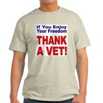 Thank a Veteran Ash Grey T-Shirt