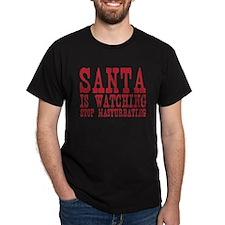 Santa is Watching T-Shirt
