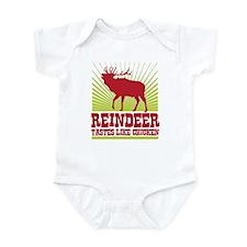 Reindeer Tastes Like Chicken Infant Bodysuit
