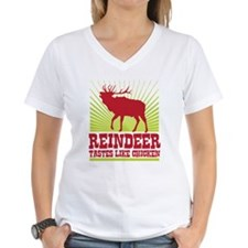 Reindeer Tastes Like Chicken Shirt
