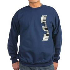 PIANO KEYS Sweatshirt
