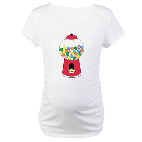Bubble Gum Graphic Maternity Shirt