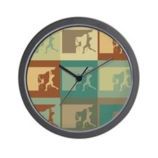 Climbing Pop Art Wall Clock