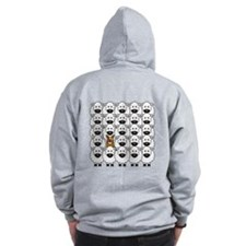 ACD and Sheep Zip Hoodie