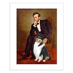 Lincoln / Collie (tri) Small Poster