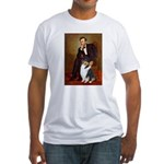 Lincoln / Collie (tri) Fitted T-Shirt