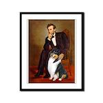 Lincoln / Collie (tri) Framed Panel Print