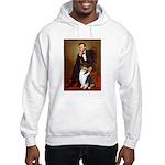 Lincoln / Collie (tri) Hooded Sweatshirt