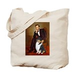 Lincoln / Collie (tri) Tote Bag