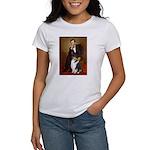 Lincoln / Collie (tri) Women's T-Shirt
