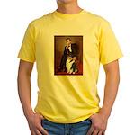 Lincoln / Collie (tri) Yellow T-Shirt