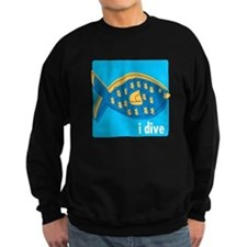 idive reef fish Sweatshirt
