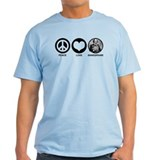 Peace Love Shakespeare T-Shirt
