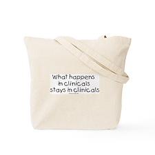 Student Nurse Clinicals Tote Bag