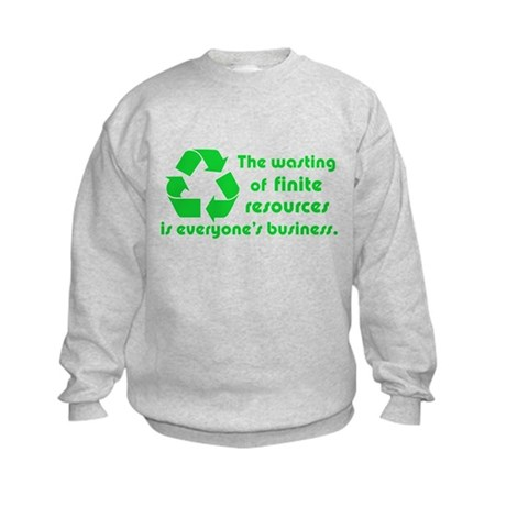 Twilight Edward Quote Kids Sweatshirt