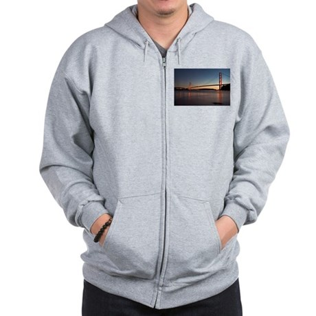 Golden Gate Bridge Zip Hoodie