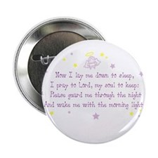 "Now I Lay Me Down To Sleep 2.25"" Button (100 pack)"