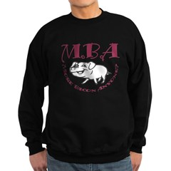 MBA Bacon Pig Sweatshirt (dark)