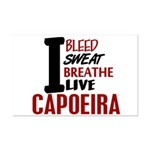 Bleed Sweat Breathe Capoeira Mini Poster Print