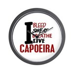 Bleed Sweat Breathe Capoeira Wall Clock