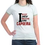 Bleed Sweat Breathe Capoeira Jr. Ringer T-Shirt