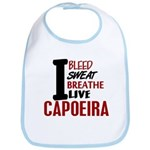 Bleed Sweat Breathe Capoeira Bib