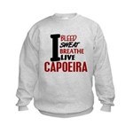 Bleed Sweat Breathe Capoeira Kids Sweatshirt