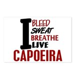 Bleed Sweat Breathe Capoeira Postcards (Package of