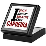 Bleed Sweat Breathe Capoeira Keepsake Box