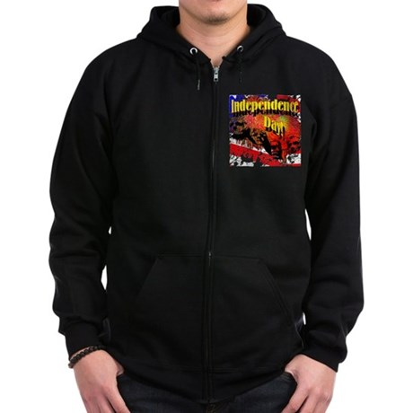 Independence Day Zip Hoodie (dark)