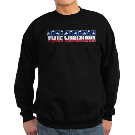 Vote Christian Sweatshirt (dark)