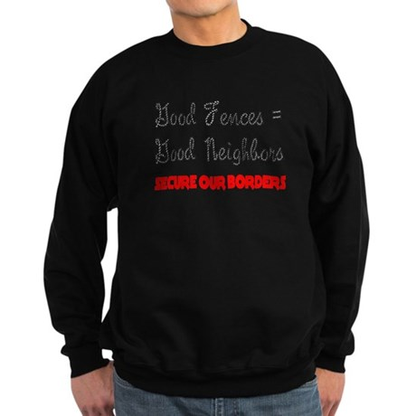 Anti Illegal Immigration Sweatshirt (dark)