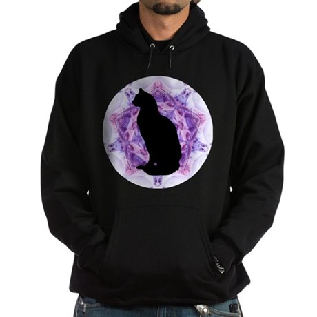 Kaleidoscope Cat Hoodie (dark)