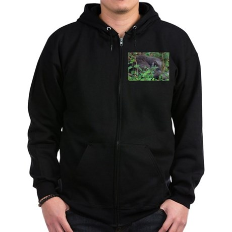 Honeysuckle Nap Zip Hoodie (dark)