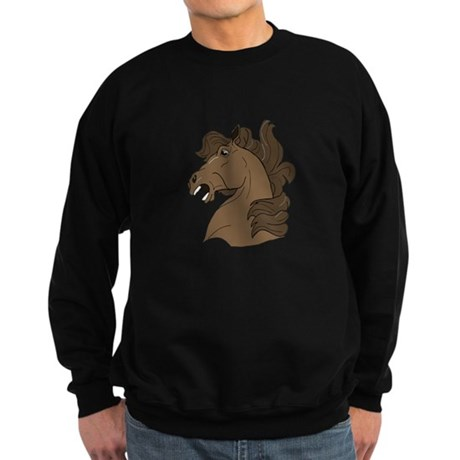 Brown Horse Sweatshirt (dark)