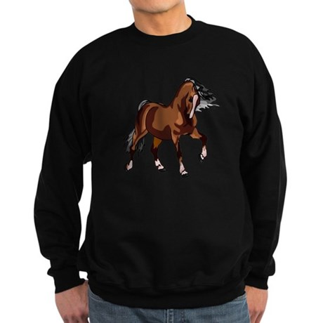 Spirited Horse Sweatshirt (dark)