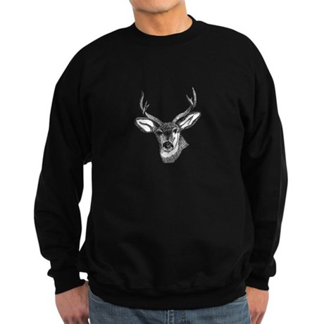 Whitetail Deer Sweatshirt (dark)