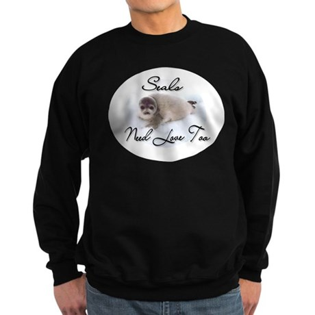Seals Need Love Sweatshirt (dark)