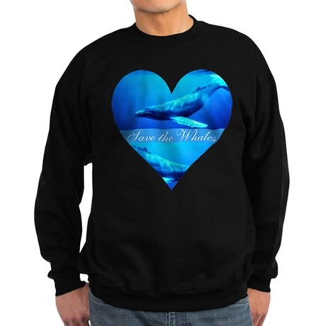 Save the Whales Sweatshirt (dark)