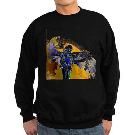 Golden Angel Art Sweatshirt (dark)