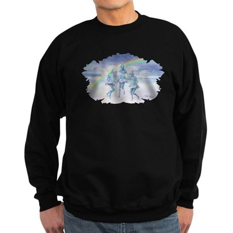 Angels and Rainbows Sweatshirt (dark)